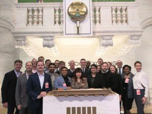 ATDC brought 14 companies to New York City for the ATDC Venture Showcase to meet more than 75 venture capitalists. The group got to tour the New York Stock Exchange as part of the visit.