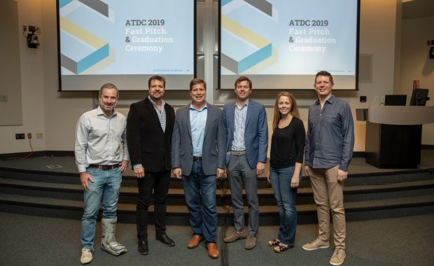 The ATDC Startup Showcase Class of 2019. (Photo by: Lynsey Weatherspoon)